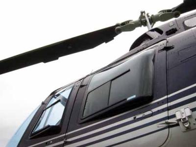 Nahaufname des Bell-Jet Rangers III