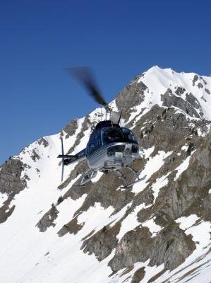 Jet Ranger im Anflug