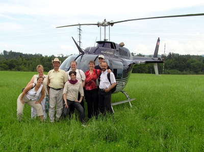 Familie Ulrich auf dem Pfisterberg in Uster