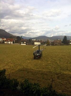 Geburtstagsflug ab Rothrist mit dem R22 HB-XZN