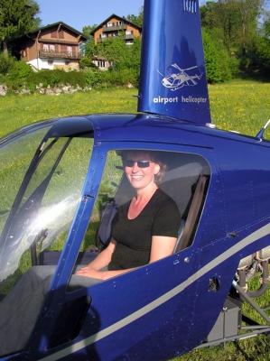 Katrin Brändle auf dem Bürgenstock