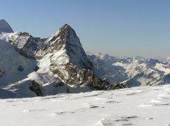 Der Eiger vom Gebirgslandeplatz Rosenegg aus