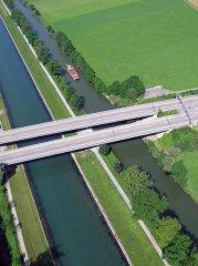 Der Linthkanal bei Schmerikon / Uznach