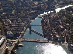 Die Kappelbruecke in Luzern